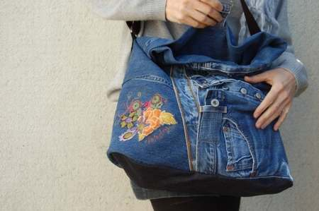 sac jean charles de castelbajac armani jeans sac a main. Black Bedroom Furniture Sets. Home Design Ideas